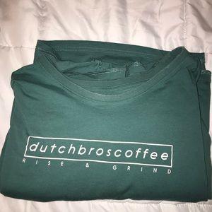 Dutch Bros coffee shop merch size 4x